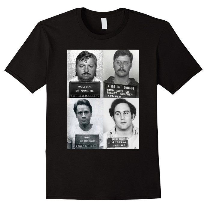 Serial Killers Mugshot Shirt